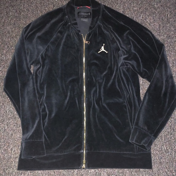 75834862f3a729 Jordan Other - Air Jordan men s L black suede jacket